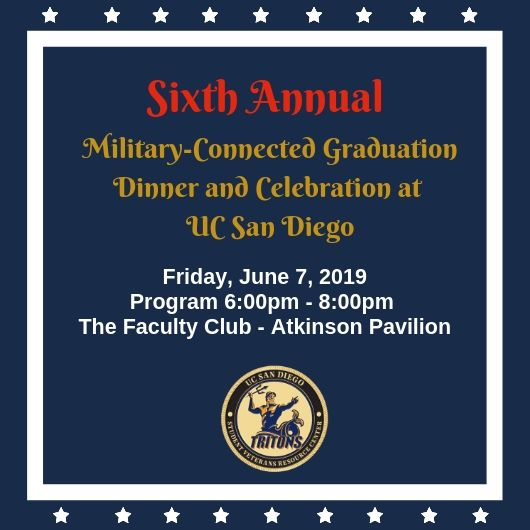 2019 Military Connected Graduation flyer, June 7, 2019